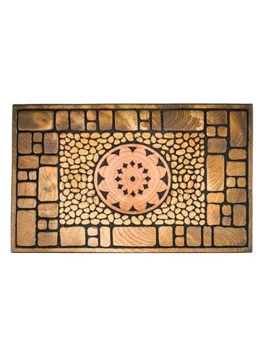Giz Home Mozaik Kapı Paspası 45X75 Notre Dame Renkli